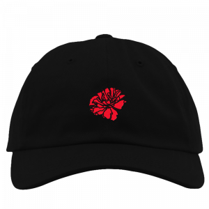 Red Flower Hat
